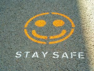 Stay Safe Face - Veritas Events